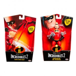 The Incredibles assorted deluxe figure 15cm