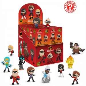 Assorted Mystery Minis Figure Disney The Incredibles 2