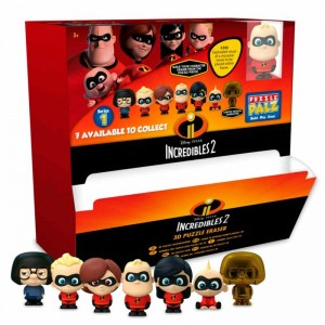 Disney Incredibles 3D puzzle eraser