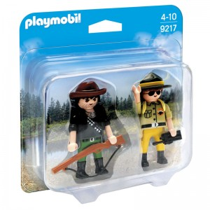 Playmobil Action Duo Pack Ranger and Poacher