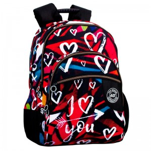 40 Grados I Love You adaptable backpack 43cm