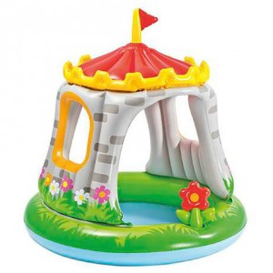 Inflatable Baby castle swimming pool