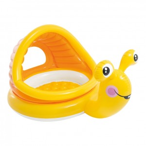 Inflatable Snail baby pool