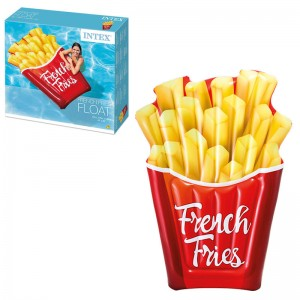 Inflatable French Fries airbed