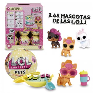 LOL Surprise Serie Pets assorted doll