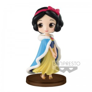 Disney Snow White Winter Q Posket figure 7cm
