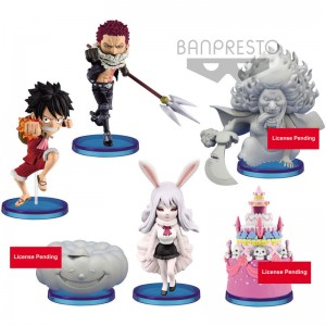 One Piece World Collectable Hallcake Island 3 assorted figure 7cm