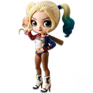 Q Posket DC Harley Quinn figure 14cm