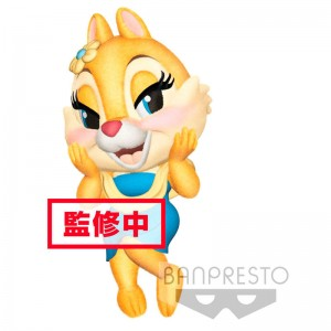 Disney Chip and Dale Fluffy Puffy Clarice figure 7cm