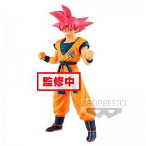 Dragon Ball Super Cyokuku Buyuden Super Saiyan God Son Goku figure 22cm