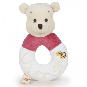 Disney Baby Winnie the Pooh soft plush rattle