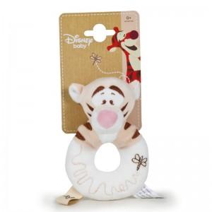 Disney Baby Winnie the Pooh Tigger soft plush rattle