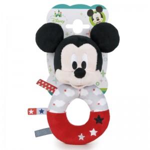 Disney Baby Mickey soft plush rattle