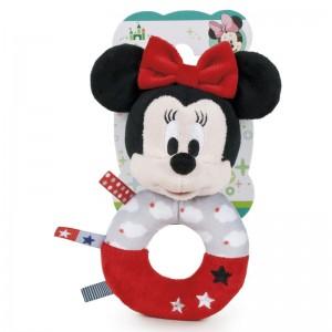 Disney Baby Minnie soft plush rattle