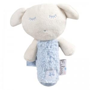 Eileen the Sleep Baby blue soft plush rattle