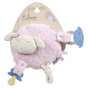 Eileen the Sleep Baby pink soft plush toy 20cm
