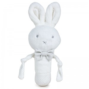 Little Bunny Baby soft plush rattle