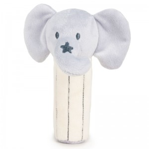 Elephant Baby soft plush ratlle