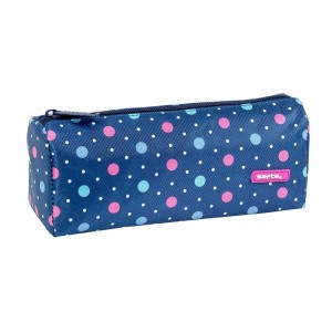 Safta Dots Blue pencil case