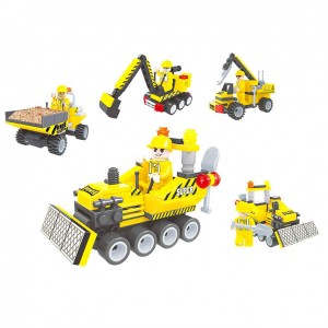 Assorted building vehicles game building
