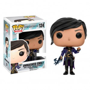 POP figure Dishonored Emily Unmasked Exclusive