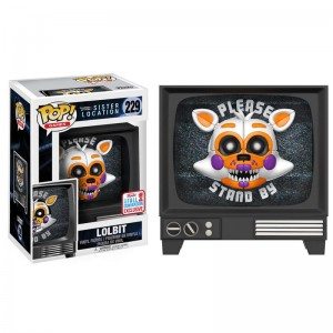POP figure Five Nights at Freddy's Sister Location Lolbit Fall Convention 2017 Exclusive
