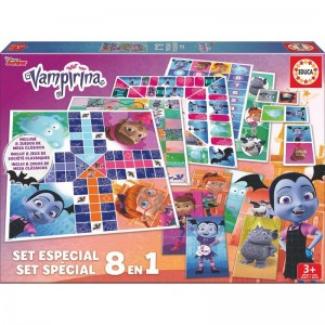 Disney Vampirina Game set 8 in 1