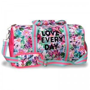 Chimola Flowers sport bag 46cm