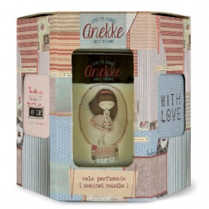 Anekke Dream patchwork candle
