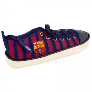 FC Barcelona shoe pencil case