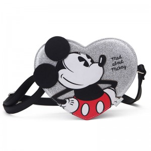 Disney Mad about Mickey heart shoulder bag
