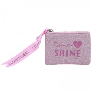 Marshmallow Shine in Pink purse
