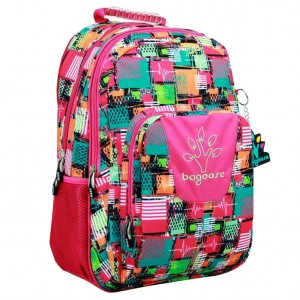 Bagoose Patchwork adaptable backpack 42cm