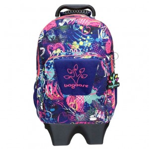 Bagoose Cool Graffiti trolley 42cm