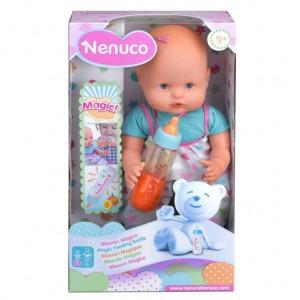 Nenuco magic feeding bottle blue doll