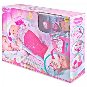 Nenuco sleep with me Cradle with Baby Monitor doll