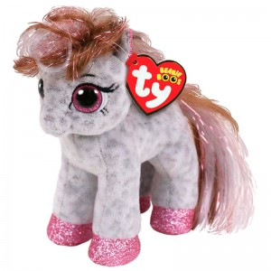 TY Beanie Boos Cinnamon Spotted Pony plush toy 15cm
