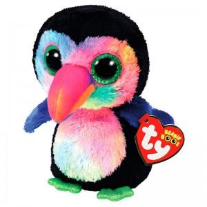 TY Beanie Boos Beaks Toucan plush toy 15cm