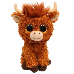 TY Beanie Boos Angus Highland Cow plush toy 15cm