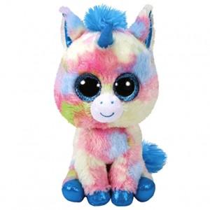 TY Beanie Boos Blitz Blue Unicorn plush toy 15cm