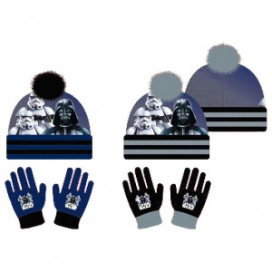 Star Wars assorted set hat gloves