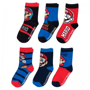 Super Mario Bros assorted socks