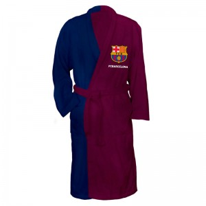 F.C Barcelona adult bath robe