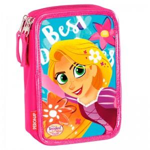 Disney Rapunzel triple pencil case