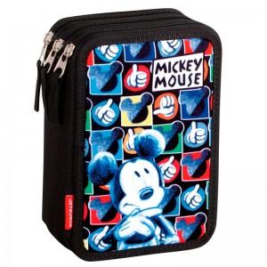Disney Mickey triple pencil case