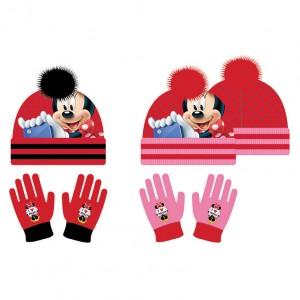 Disney Minnie assorted set hat gloves