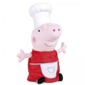 Peppa Pig Shine & Cakes Cook soft plush toy 45cm
