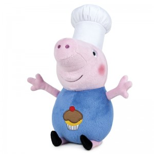 Peppa Pig George Shine & Cakes Cook soft plush toy 45cm