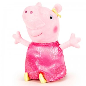 Peppa Pig Shine & Cakes fuchsia soft plush toy 40cm