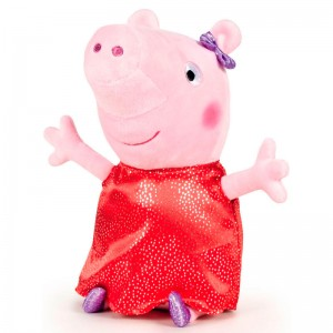 Peppa Pig Shine & Cakes red soft plush toy 40cm